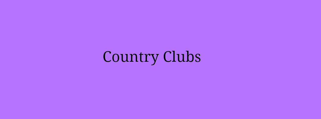 Country Clubs